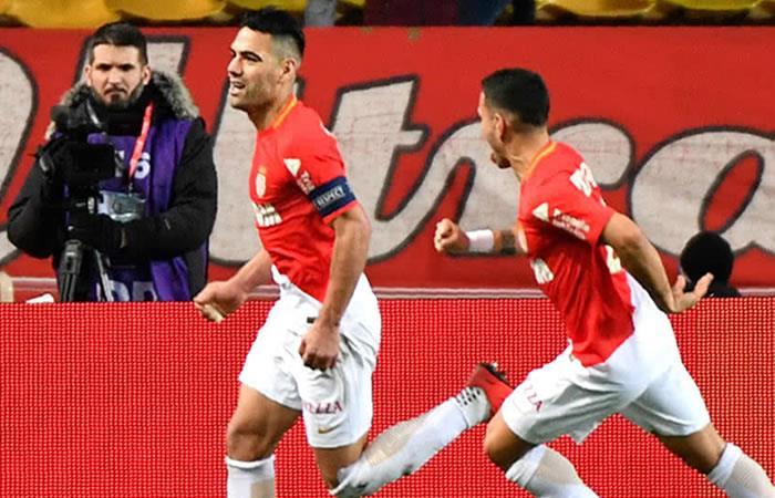 Video: El golazo de Falcao frente al Nantes