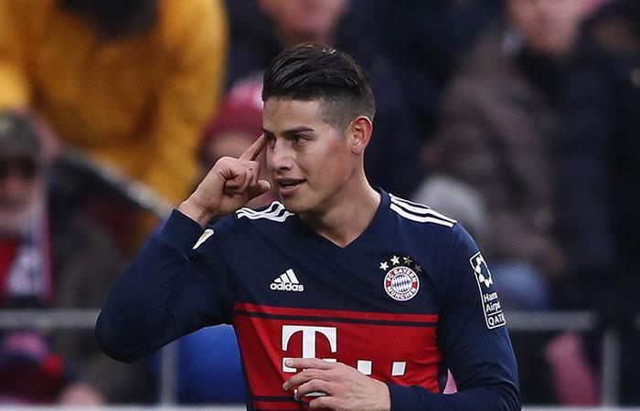 Vídeo: Golazo de James Rodríguez por el título del Bayern en la Bundesliga