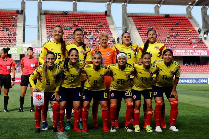 La Selección Colombia femenina quiere mantener el liderato del Grupo A