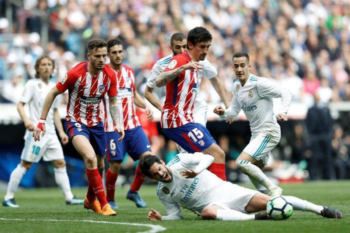 Real Madrid empata el clásico madrileño