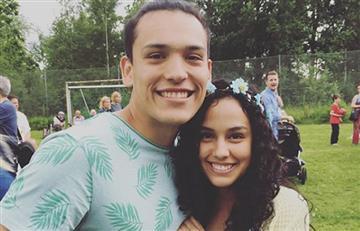 Ana María Estupiñan se comprometió en matrimonio el día de su cumpleaños