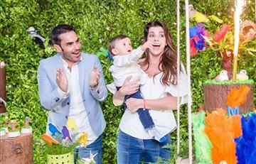 Así celebraron Carolina Cruz y Lincoln Palomeque el cumpleaños de su hijo Matías