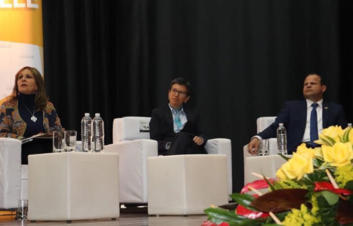 Tres fórmulas y un candidato presidencial discutieron sobre la educación en Colombia