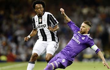 ¿A qué hora y dónde ver por TV a Cuadrado con Juventus vs. Real Madrid?