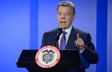 """Santos afirma que hay """"pruebas contundentes"""" por narcotráfico, contra Santrich"""