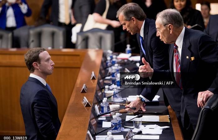 Ante el Congreso de EE.UU., Zuckerberg asume toda la responsabilidad por la filtración
