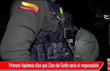 Clan del golfo sería el autor del ataque a patrulla donde murieron ocho policías