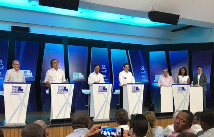 Debate Pacífico: Así se vivió detalladamente el encuentro de los candidatos