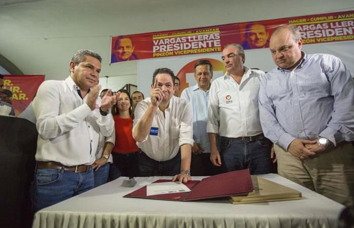 Germán Vargas Lleras ya cuenta con el respaldo del Partido de la U