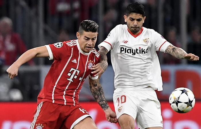 ¿James Rodríguez se perderá la semifinal que podría ser contra el Real Madrid?