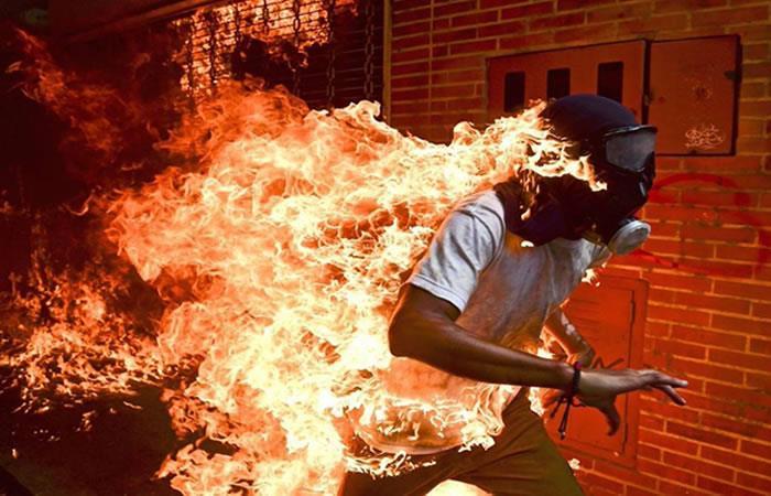 Venezolano gana la 'Mejor Foto del Año 2017'