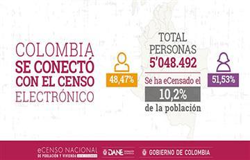 DANE: Más de cinco millones de colombianos se censaron