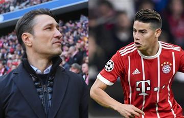 James Rodríguez: El Bayern Múnich dio a conocer el reemplazo de Jupp Heynckes