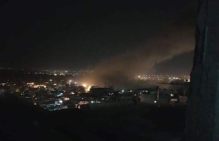 Siria: Damasco sufre ataque por parte de EE.UU. y sus aliados