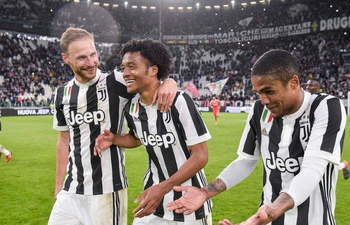 Juventus de Juan Guillermo Cuadrado obtiene la victoria ante Sampdoria