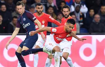 Mónaco de Falcao sufre goleada del París SG, el nuevo campeón de la Ligue 1