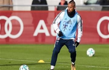 Vidal tuvo que abandonar el entrenamiento de Bayern de Múnich ¿Las razones?