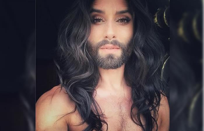 Cantante travesti Conchita Wurst reveló que es portadora del virus del VIH