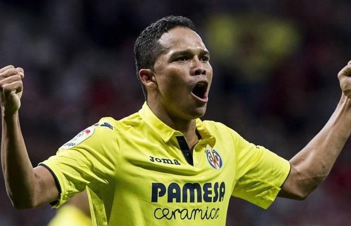 Carlos Bacca devuelve la sonrisa al Villarreal con un golazo