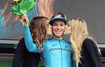 Miguel Ángel López se impuso en la segunda etapa del Tour de los Alpes