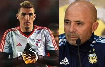 Selección Argentina: Tremenda noticia que le habría dado Sampaoli a Franco Armani