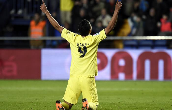 Carlos Bacca hace olvidar a Bakambu en el Villarreal