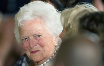 Fallece Barbara Bush a los 92 años, ex primera dama de EE.UU.