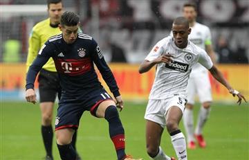 James Rodríguez y el Bayern Múnich ya conocen a su rival en la final de la Copa Alemana