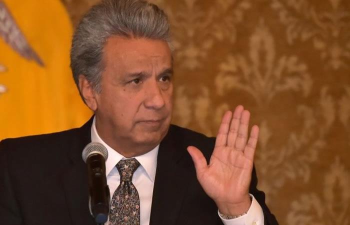 """Lenín Moreno: """"Ya no seremos el garante de paz entre Colombia y el ELN"""""""