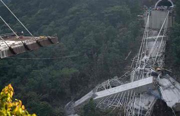 Puente Chirajara: Comienzan las labores de remoción y limpieza tras el colapso