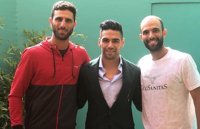 Robert Farah y Juan Sebastián Cabal recibieron el apoyo de Falcao y su familia