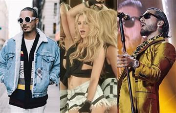 Shakira, J Balvin y Maluma entre lo nominados a los Premios Billboard Anglo