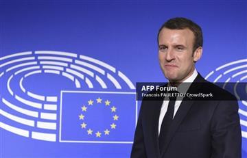 """Siria: Macron afirma que ataques aéreos """"no solucionan nada"""""""