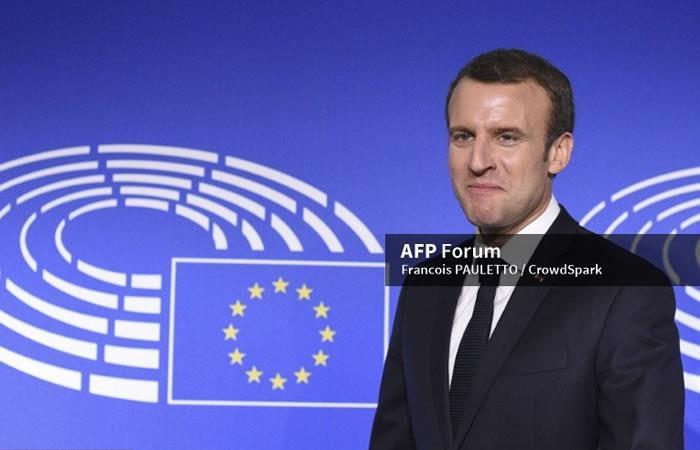 Siria: Macron afirma que ataques aéreos