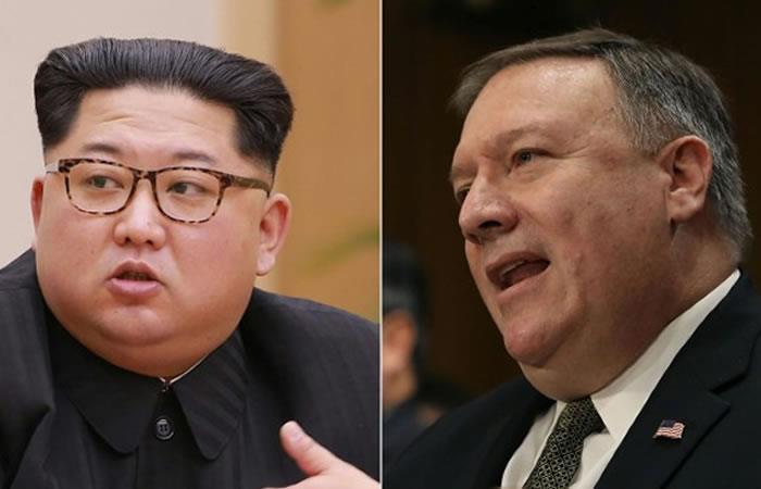 Trump confirma reunión entre jefe de la CIA y Kim Jong Un