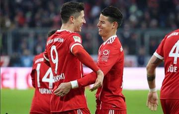 ¿James Rodríguez por Robert Lewandowski ?