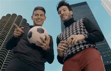James Rodríguez y Falcao los nuevos protagonistas del video de Sebastián Yatra