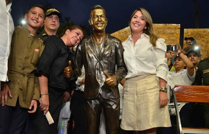 La estatua de Martín Elías tuvo un costo de más de 150 millones de pesos