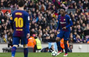 Lionel Messi y el regaño a Yerry Mina que nadie vio
