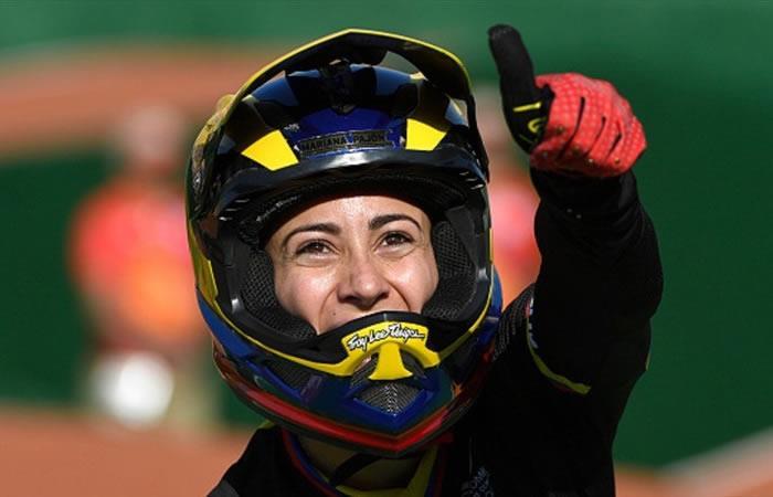 Mariana Pajón representará a Colombia en la Copa Mundo del BMX