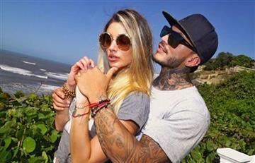 Melina Ramírez se tatuó el nombre de su novio Mateo Carvajal