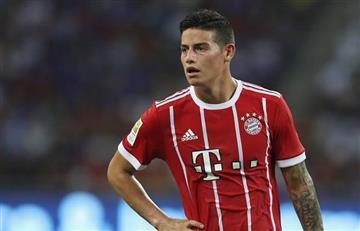 ¿Peligra el puesto de James Rodríguez en el Bayern Múnich con la llegada del nuevo DT?