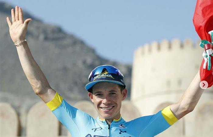 ¡Miguel Ángel López se subió al podio Tour de los Alpes!