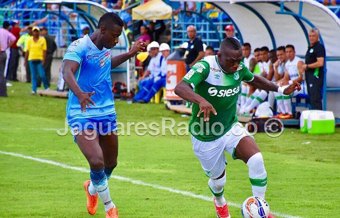 Deportivo Cali perdió en su visita contra Jaguares
