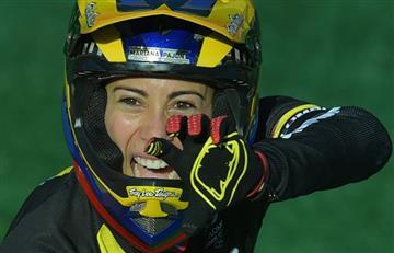 Mariana Pajón regresa a las pistas y hace lo imposible en Francia, es de aplaudirlo