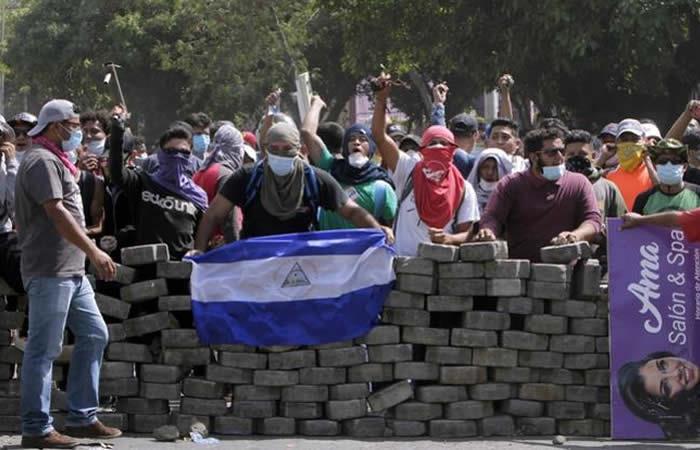 Nicaragua: Fuertes protestas dejan 24 personas muertas