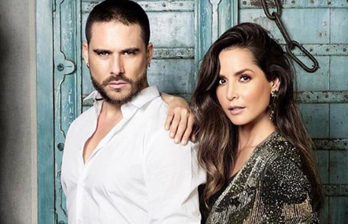 Carmen Villalobos y Sebastián Caicedo se casarán tres veces