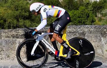 Egan Bernal empieza pisando fuerte en el Tour de Romandía