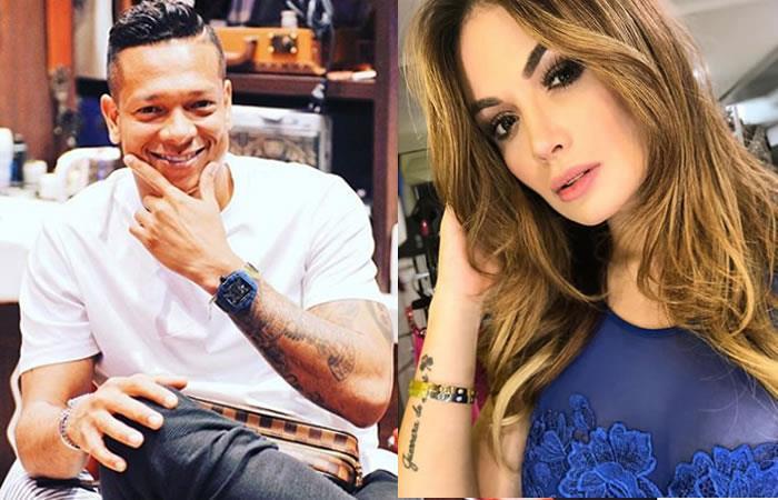 Freddy Guarín en vivo besa y confiesa su amor a Sara Uribe
