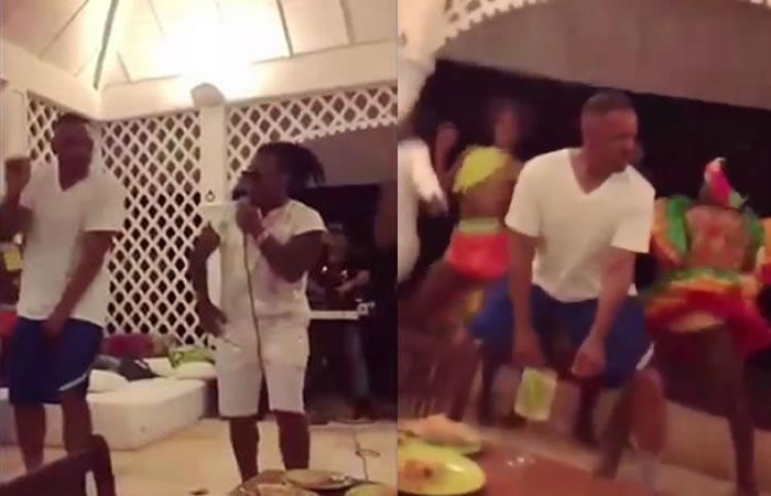 Will Smith se atrevió a bailar champeta con Mr Black